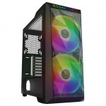 GAMDIAS - APOLLO M1 ATX Tower Case - Black