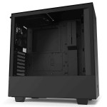 NZXT H510 Matte Black Tempered Glass ATX Mid-Tower Gaming Computer Case - CA-H510B-B1