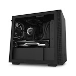 NZXT H Series H210 Matte Black Tempered Glass Mini-ITX Tower Case CA-H210B-B1