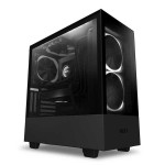 NZXT H Series H510 Elite Black Compact Premium Mid-Tower ATX Case CA-H510E-B1