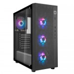 Silverstone FARA R1 PRO - SST-FAR1B-PRO, Tempered Glass, mid Tower ATX Chassis with ARGB Case