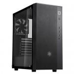 SilverStone FARA R1- SST-FAR1B-G Tempered Glass Black Mid-Tower ATX Case
