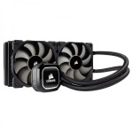 Corsair Hydro Series H100x Extreme Performance Liquid / Water 240mm CPU Cooler  - CW-9060040-WW