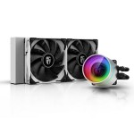 Deepcool Gamerstorm Castle 240EX White All In One 240mm CPU Liquid Cooler - DP-GS-H12W-CSL240EXWH