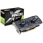 INNO3D GEFORCE GTX 1650 TWIN X2 OC 4GB GDDR5 128-BIT GAMING GRAPHICS CARD - N16502-04D5X-1510VA25
