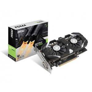 MSI GeForce GTX 1050 Ti 4GT OC V1 4GB 128-Bit GDDR5 HDCP Ready ATX Graphic Card