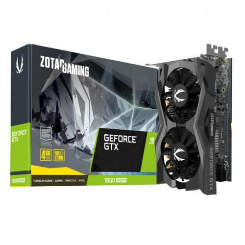 ZOTAC GeForce GTX 1650 SUPER DirectX 12.1 4GB 128-Bit GDDR6 PCI Express 3.0 HDCP Ready Graphic Card - ZT-T16510F-10L