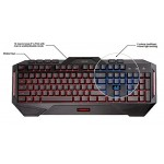 Asus Cerberus LED Backlit Red / Blue USB Gaming Keyboard