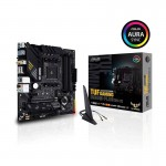 ASUS TUF GAMING B550M-PLUS (Wi-Fi) AMD AM4 (3rd Gen Ryzen) Micro ATX Gaming Motherboard