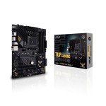 ASUS TUF GAMING B550-PLUS AMD SOCKET AM4/RYZEN 3RD GEN SERIES CPU/MAX 128GB DDR4 4600MHZ MEMORY MOTHERBOARD