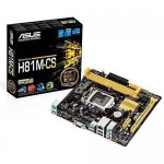 ASUS H81M-CS Socket LGA-1150 Intel Motherboard