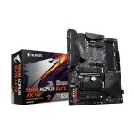 GIGABYTE B550 AORUS ELITE AX V2 AM4 AMD B550 ATX with Dual M.2, SATA 6Gb/s, USB 3.2 Gen 2, 2.4/5 GHz Dual-Band, 2.5 GbE LAN, PCIe 4.0 Motherboard