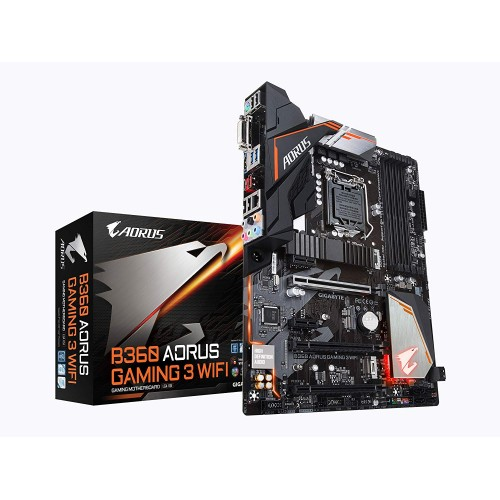 GIGABYTE B360 AORUS Gaming 3 WIFI LGA 1151 (300 Series) Intel B360 HDMI SATA 6Gb/s ATX Intel Motherboard