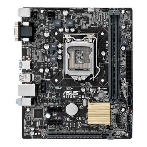 Asus H110M-CS LGA1151 Intel H110 Desktop Motherboard