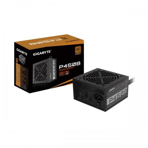 GIGABYTE GP-P450B 450 W ATX 12V v2.31 80 PLUS BRONZE Certified Non-Modular Active PFC Power Supply