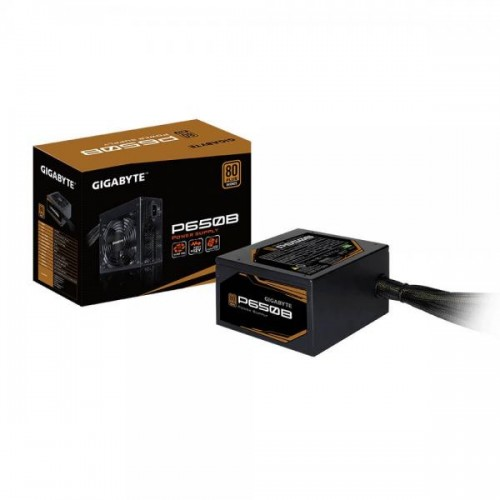 GIGABYTE P650B GP-P650B 650W ATX 12V v2.31 80 PLUS BRONZE Certified Non-Modular Active PFC (>0.9 typical) Power Supply
