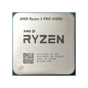 AMD Ryzen 3 PRO 4350G 3.8GHz Desktop Processor (OEM  Processor with Ryzen Cooler)