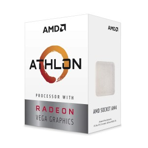 AMD Athlon 3000G 3.5GHz Dual-Core Unlocked OC AM4 Processor - YD3000C6FHBOX