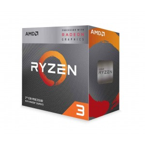 AMD RYZEN 3 3200G 4-Core 3.6 GHz (4.0 GHz Max Boost) Socket AM4 65W Desktop Processor - YD3200C5FHBOX