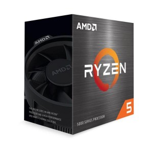 AMD Ryzen 5 5600X 6-Core 3.7 GHz Socket AM4 65W Desktop Processor - 100-100000065BOX