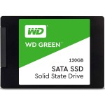 "Western Digital 120GB Green PC SSD - SATA III 6Gb/s 2.5""/7mm Solid State Drive - WDS120G2G0A"