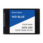 "Western Digital 1TB Blue 3D NAND Internal SSD - SATA III 6Gb/s 2.5""/7mm Solid State Drive - WDS100T2B0A"