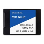 "Western Digital 250GB Blue 3D NAND Internal SSD - SATA III 6Gb/s 2.5""/7mm Solid State Drive - WDS250G2B0A"