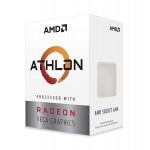 AMD Athlon 200GE 2-Core, 4-Thread, 3.2 GHz Base, Socket AM4 35W YD200GC6FBBOX Desktop Processor