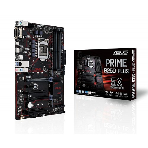 ASUS PRIME B250-PLUS LGA 1151 Intel B250 HDMI USB 3.0 ATX Intel Motherboard