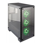 Corsair Crystal Series 460X RGB Black Tempered Glass ATX Mid Tower Computer Case - CC-9011101-WW