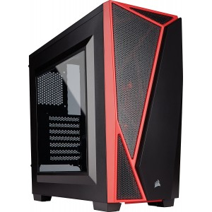 Corsair Carbide SPEC-04 Black/Red Mid-Tower Gaming Computer Case