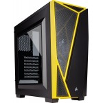 Corsair Carbide SPEC-04 Black/Yellow Mid-Tower Gaming Computer Case