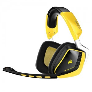 Corsair VOID RGB Wireless CA-9011135-AP Multi-Colour RGB Dolby 7.1 Gaming Headset - Yellow