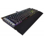 Corsair Gaming K95 RGB PLATINUM Cherry MX Speed Gunmetal Mechanical Keyboard