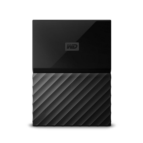 WD 1TB My Passport Portable Black USB 3.0 External Hard Drive - WDBYNN0010BBK
