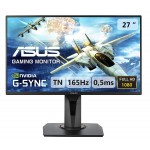 "ASUS VG278QR 27"" Full HD 1920 x 1080 165Hz 0.5ms DisplayPort Flciker-Free Technology Low Blue Light Built-in Speakers Backlit LED Gaming Monitor"