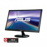 """ASUS VP228H 21.5"""" Black Widescreen LED Backlight Built-in Speakers, Flicker-Free and Low Blue Light technologies LCD Monitor"""