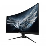"Gigabyte AORUS CV27F 27"" Frameless Curved 1500R , Full HD 1ms 165Hz, HDR, FreeSync Premium Pro Gaming Monitor"