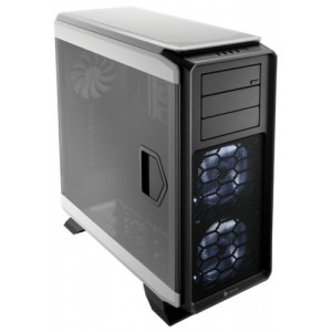 Corsair Graphite Series 760T White Steel / Plastic ATX Full Tower Windowed Gaming Case - CC-9011074-WW